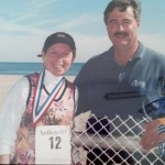 My hubby and I after the Bay Bridge Marathon in Virginia Beach several years ago.